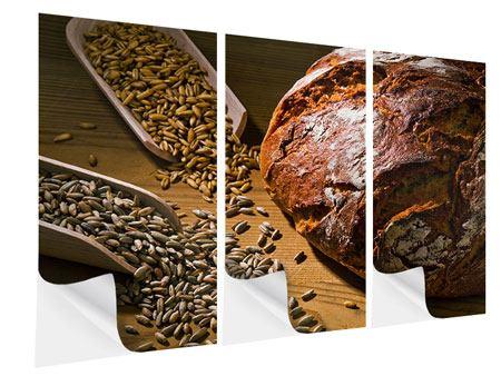 Klebeposter 3-teilig Das Brot
