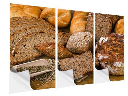 Klebeposter 3-teilig Brotarten