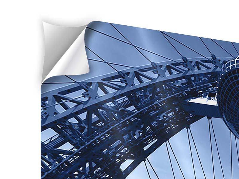 Klebeposter 3-teilig Schiwopisny-Brücke