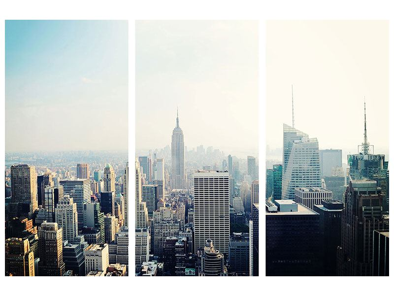 Klebeposter 3-teilig NYC