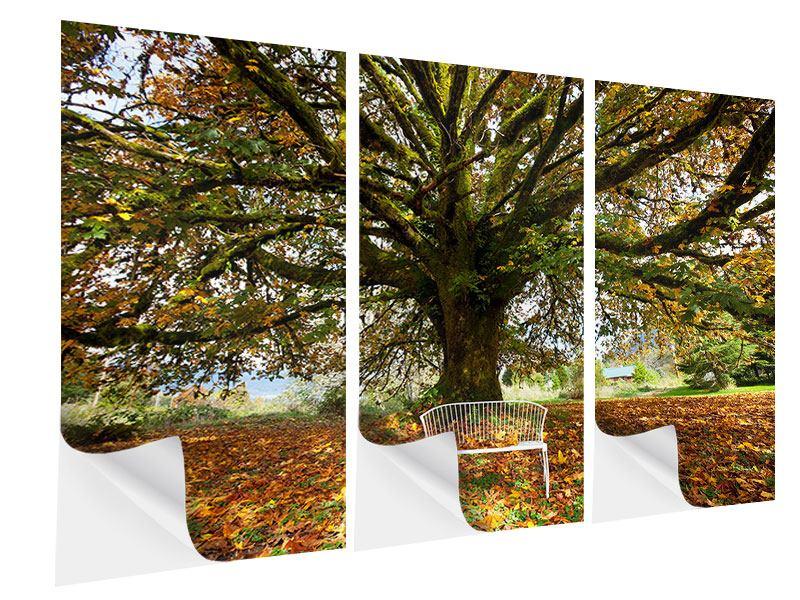 Klebeposter 3-teilig Mein Lieblingsbaum