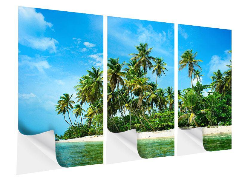 Klebeposter 3-teilig Reif für die Ferieninsel