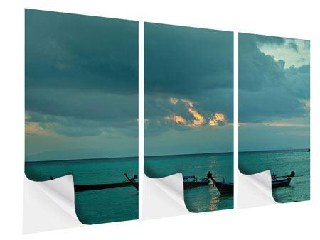 Klebeposter 3-teilig Ozean