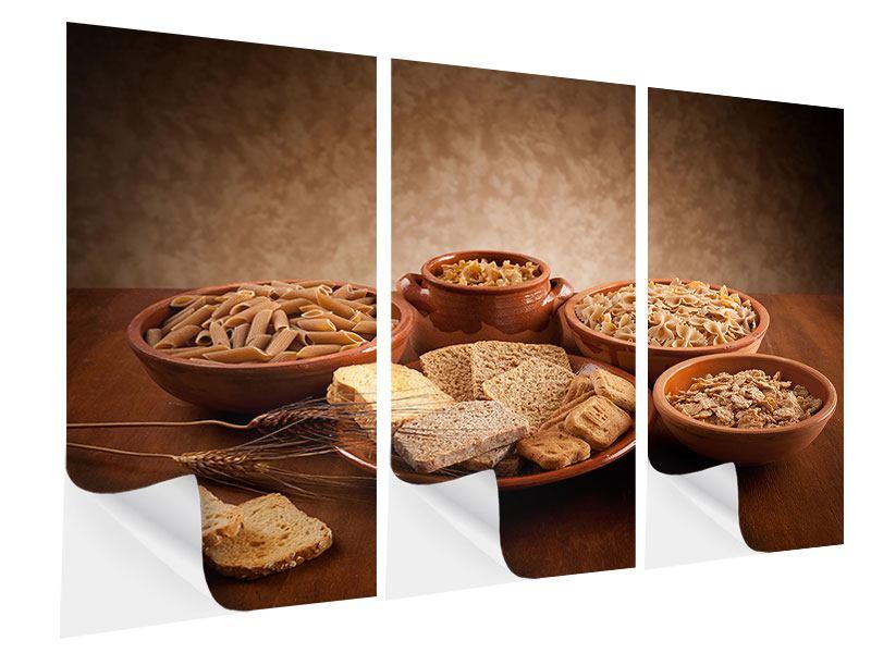 Klebeposter 3-teilig Das Volle Korn
