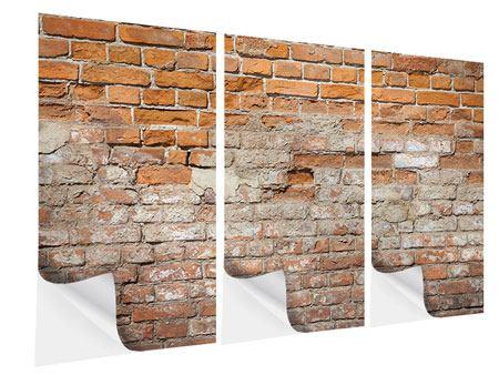Klebeposter 3-teilig Alte Klagemauer