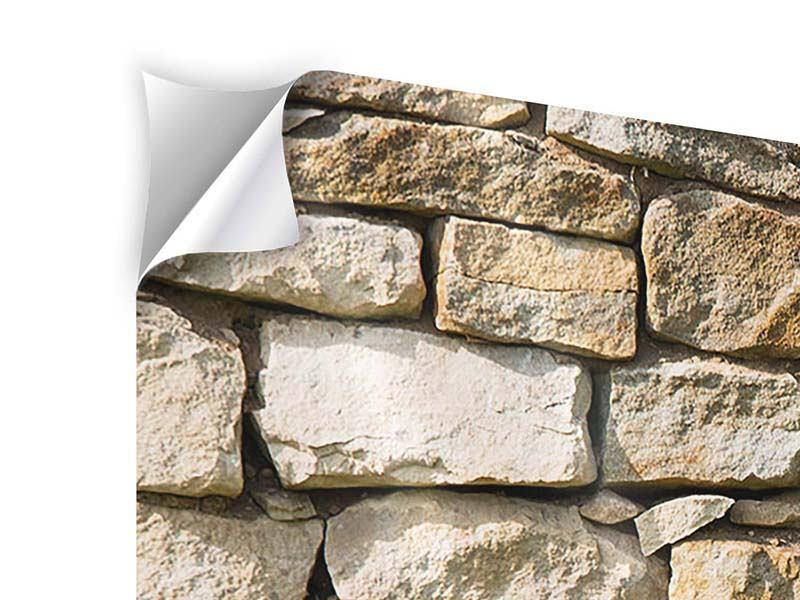 Klebeposter 3-teilig Natursteine