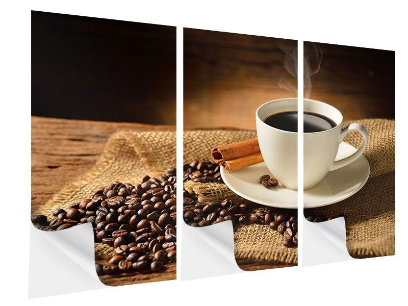 Klebeposter 3-teilig Kaffeepause