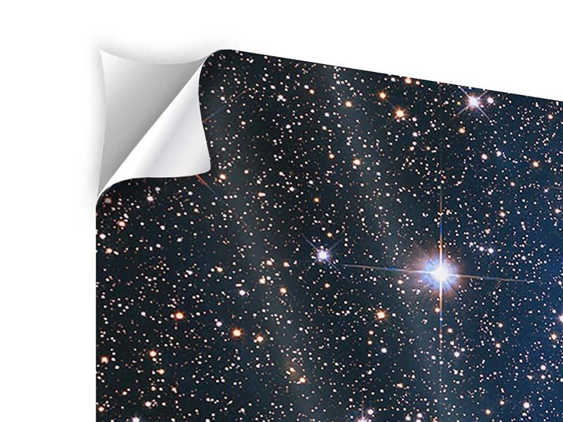 Klebeposter 3-teilig Sternenhimmel