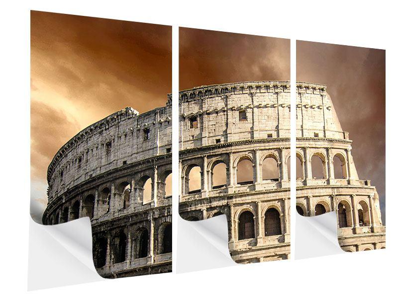 Klebeposter 3-teilig Kolosseum Rom
