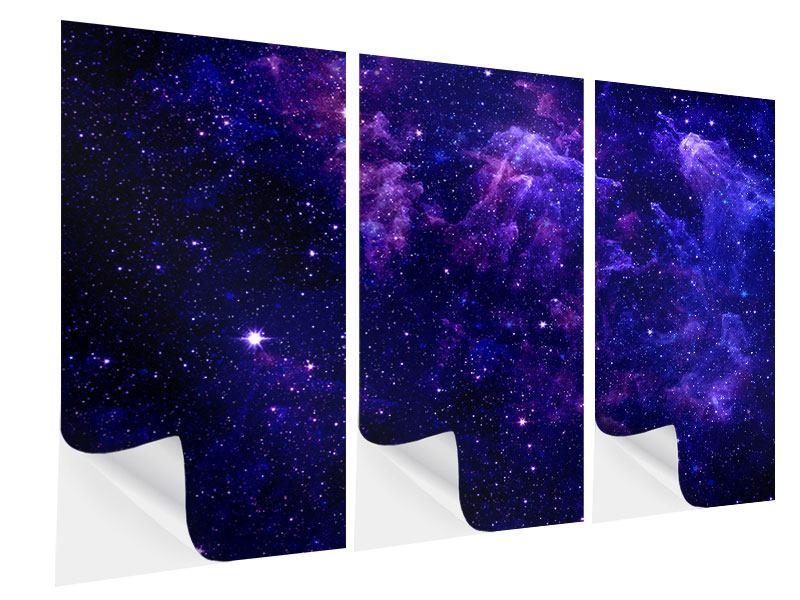 Klebeposter 3-teilig Ein Himmel voll Sterne