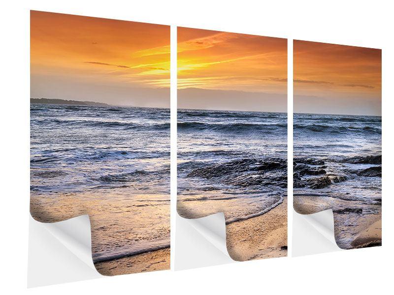 Klebeposter 3-teilig Das Meer