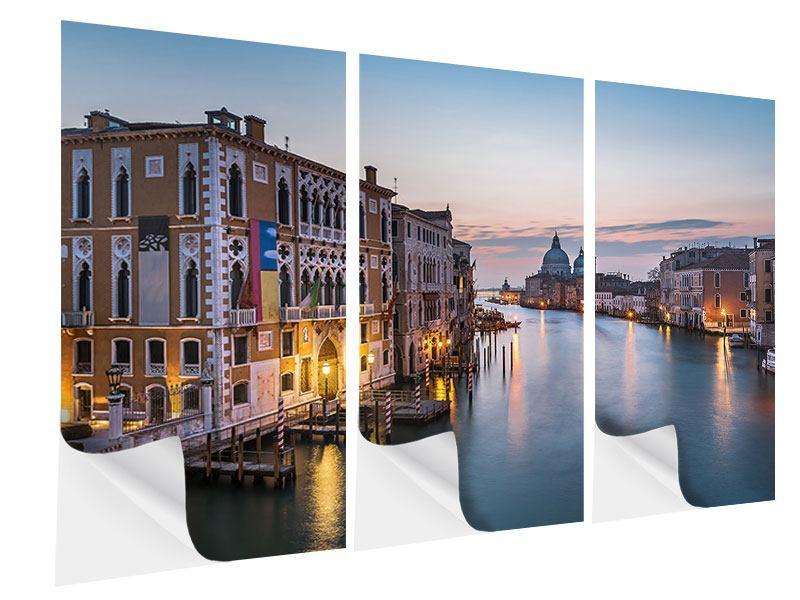 Klebeposter 3-teilig Romantisches Venedig
