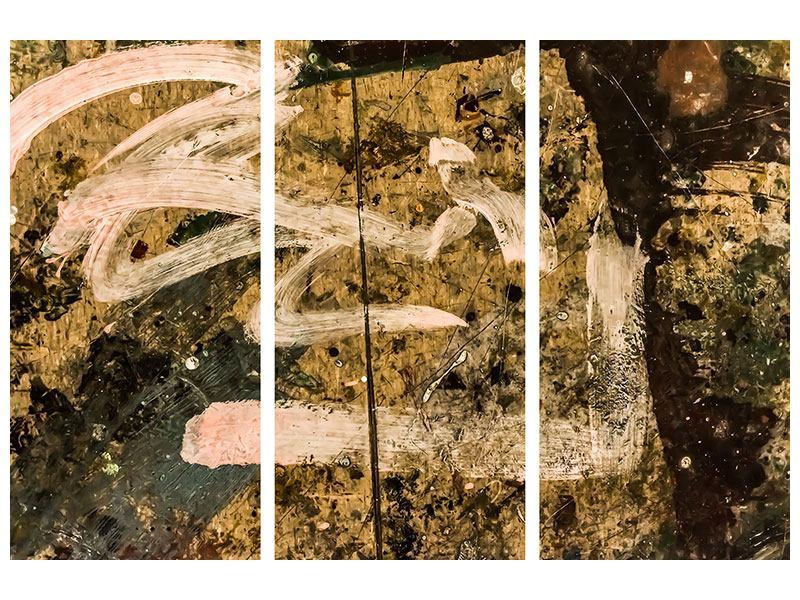 Klebeposter 3-teilig Writing On The Wall