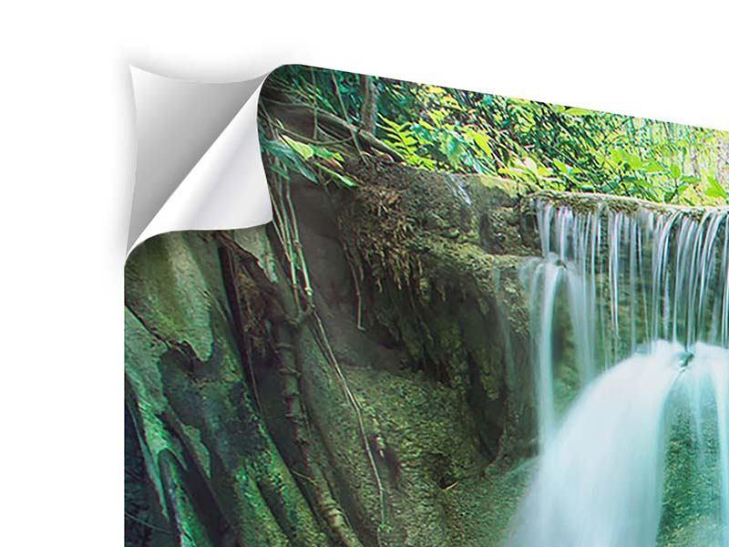 Panorama Klebeposter 3-teilig Im Paradies