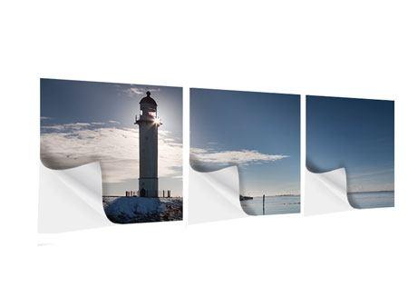 Panorama Klebeposter 3-teilig Sailing