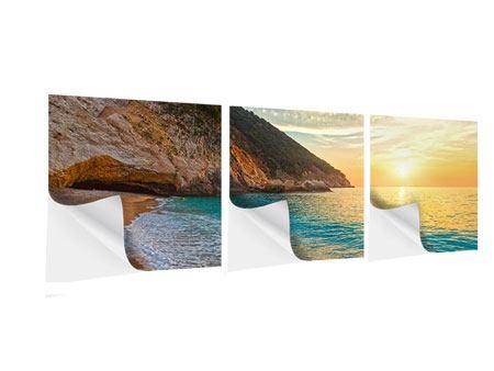 Panorama Klebeposter 3-teilig Aussicht