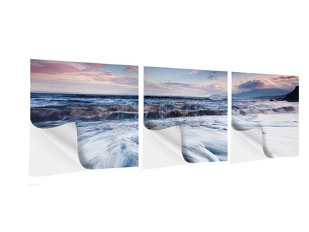 Panorama Klebeposter 3-teilig Ort der Sehnsucht