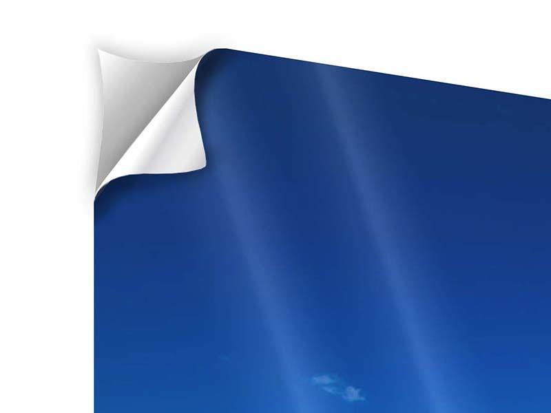 Panorama Klebeposter 3-teilig Die Trauminsel