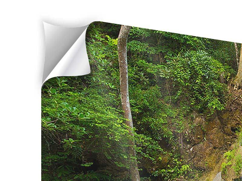 Panorama Klebeposter 3-teilig Frische Brise