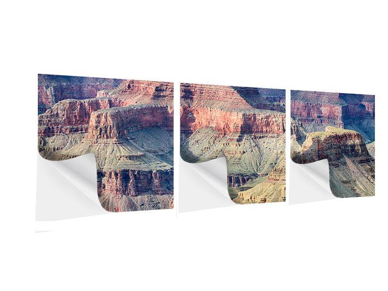 Panorama Klebeposter 3-teilig Gran Canyon