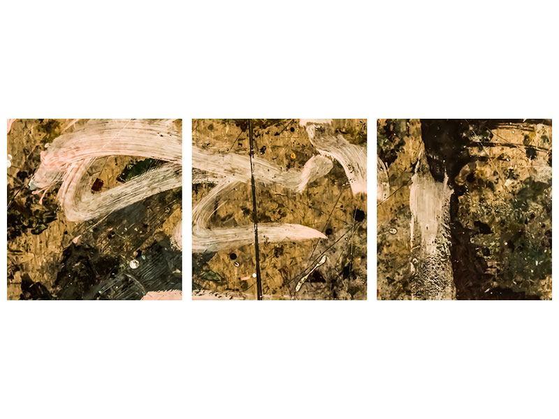 Panorama Klebeposter 3-teilig Writing On The Wall