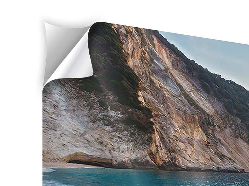 Klebeposter 3-teilig modern Felsen