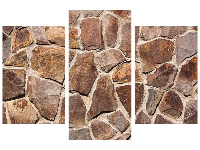 Klebeposter 3-teilig modern Designmauer