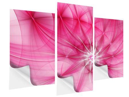 Klebeposter 3-teilig modern Abstrakt Daylight