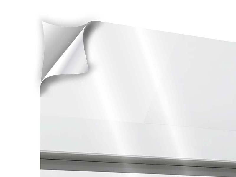 Klebeposter 3-teilig modern Weisser Flügel