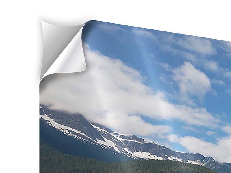 Klebeposter 3-teilig modern Diablo Bergsee