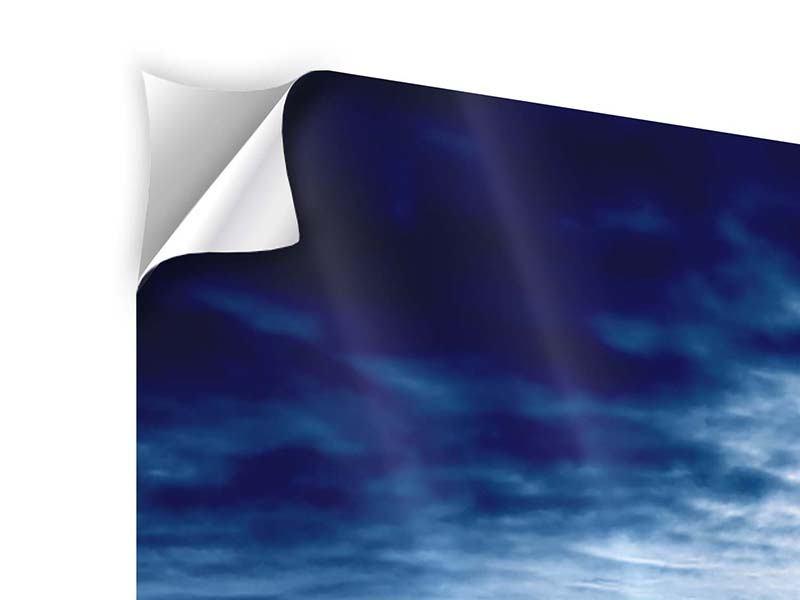 Klebeposter 3-teilig modern Mystischer Himmel