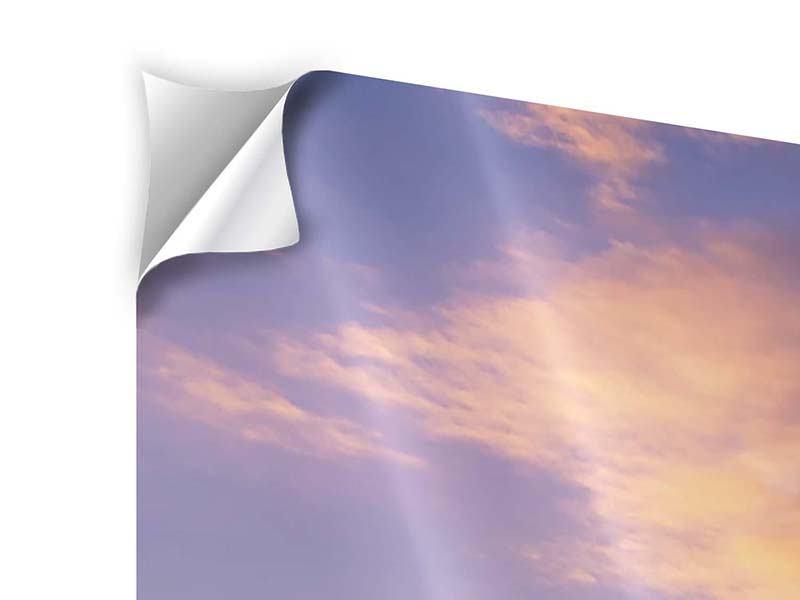 Klebeposter 4-teilig modern Himmlisch