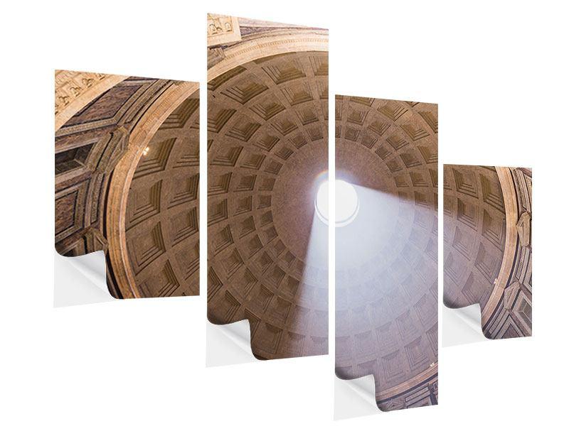 Klebeposter 4-teilig modern Petersdom