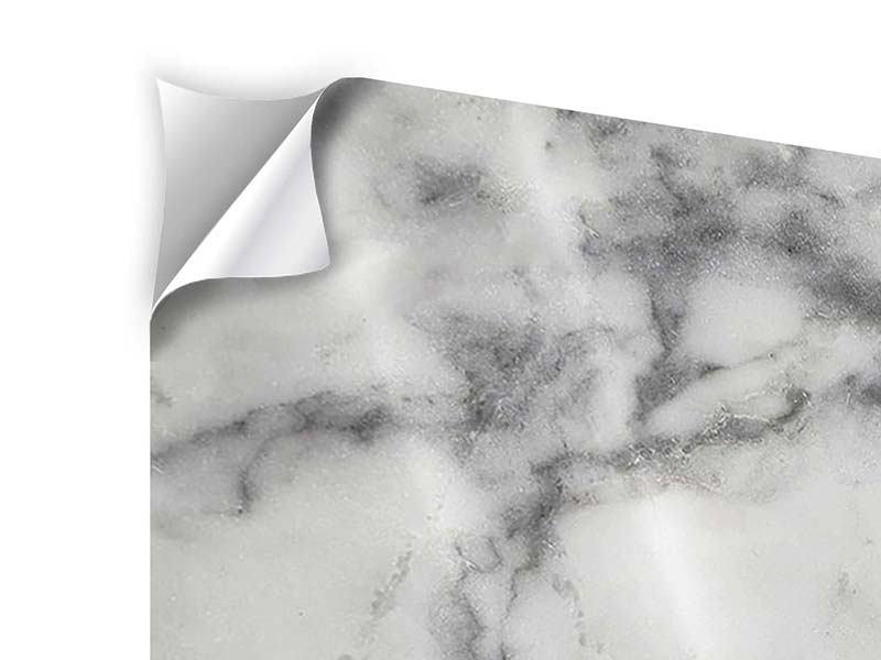 Klebeposter 4-teilig modern Klassischer Marmor