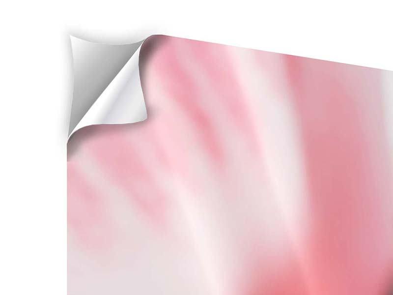 Klebeposter 4-teilig modern Der Lilienstempel