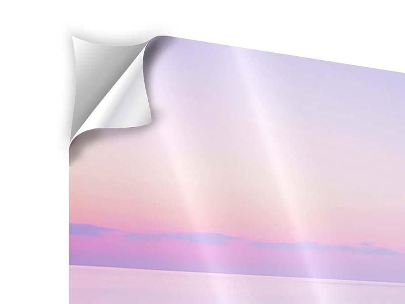 Klebeposter 4-teilig modern Unendlicher Ozean