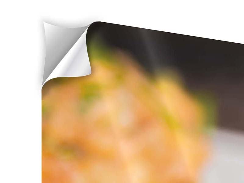 Klebeposter 4-teilig Asiatische Küche