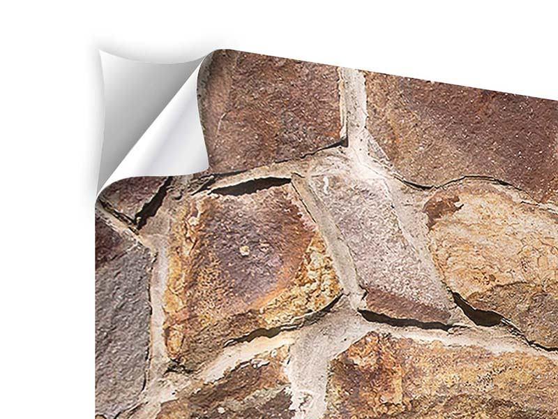 Klebeposter 4-teilig Designmauer