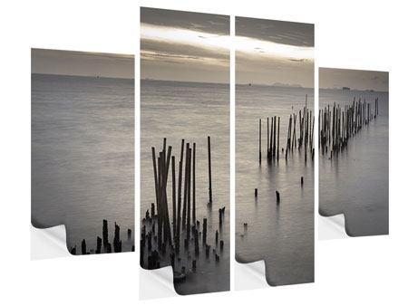 Klebeposter 4-teilig Das Meer und die Träne