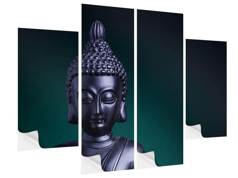 Klebeposter 4-teilig Die Weisheit des Buddhas