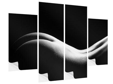Klebeposter 4-teilig Nude