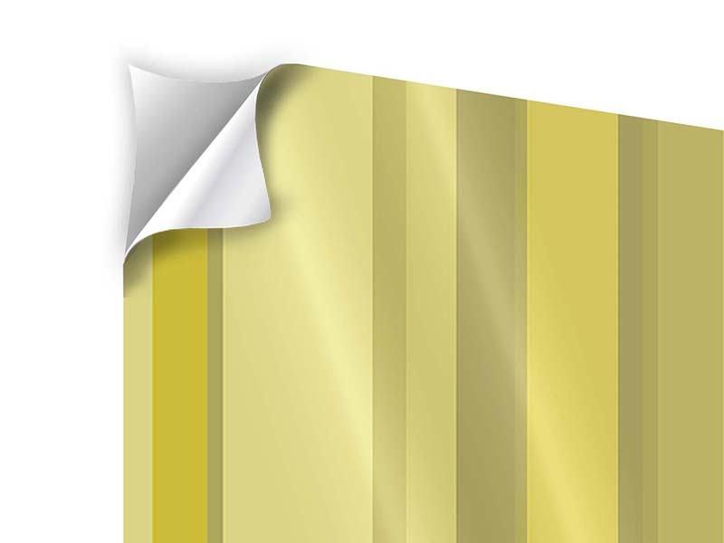 Klebeposter 4-teilig Streifen