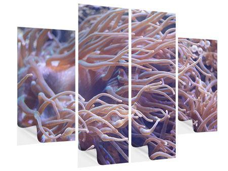 Klebeposter 4-teilig Korallenriff