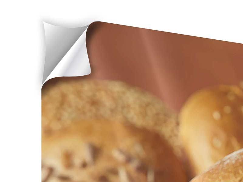 Klebeposter 4-teilig Brotzeit