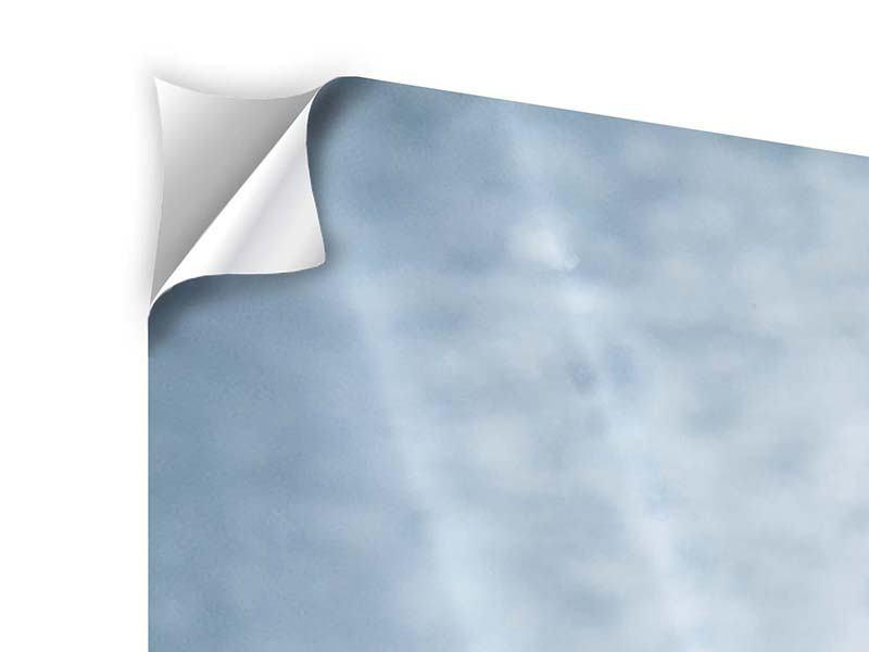 Klebeposter 4-teilig Wasserdynamik