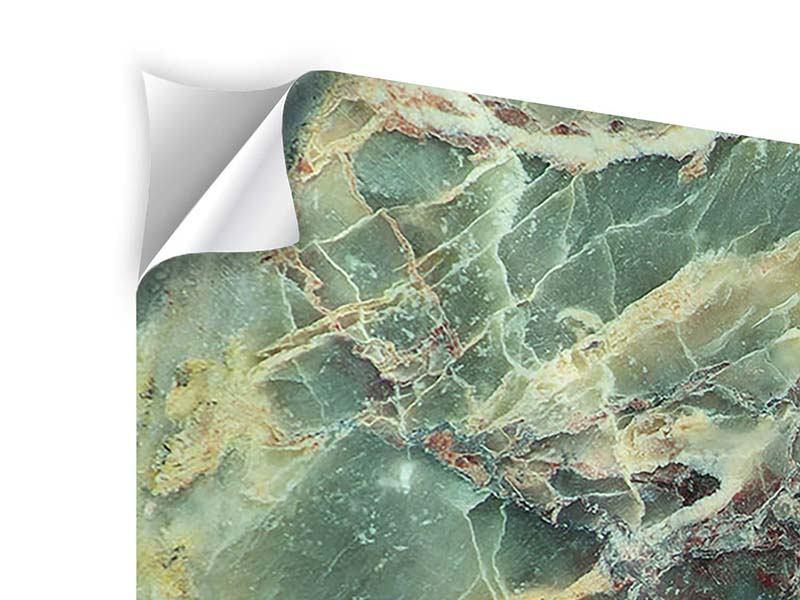 Klebeposter 4-teilig Marmor