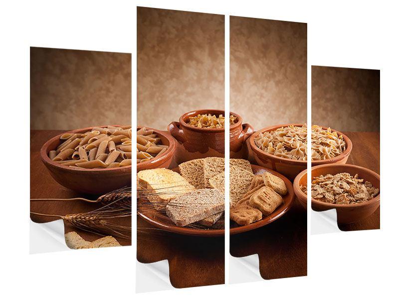 Klebeposter 4-teilig Das Volle Korn