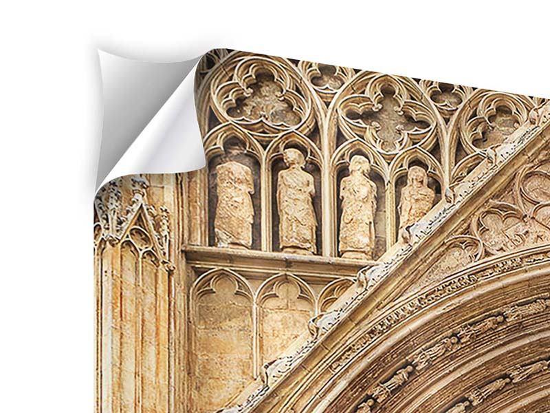 Klebeposter 4-teilig Kathedrale von Valencia