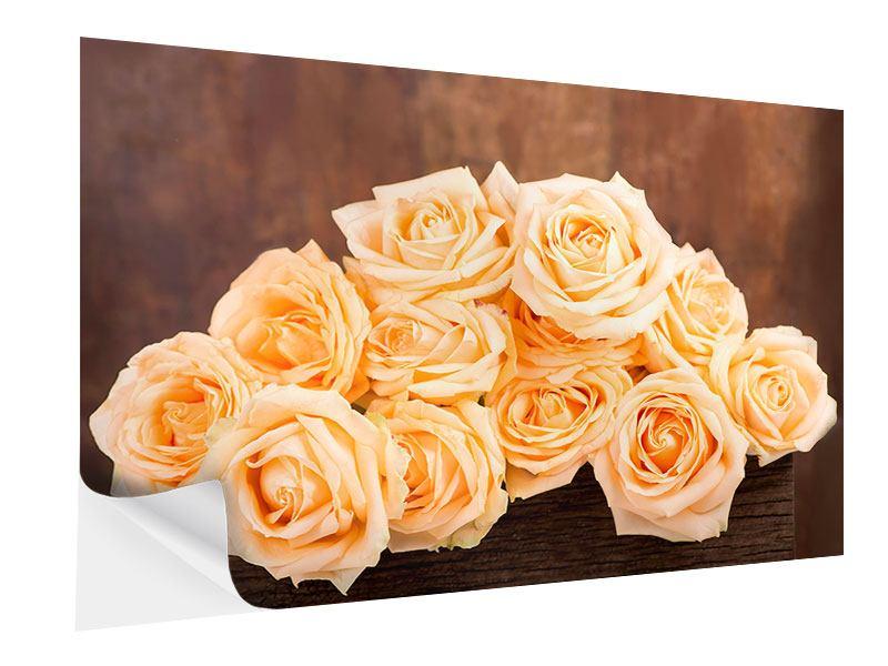 Klebeposter Die Rosenzeit