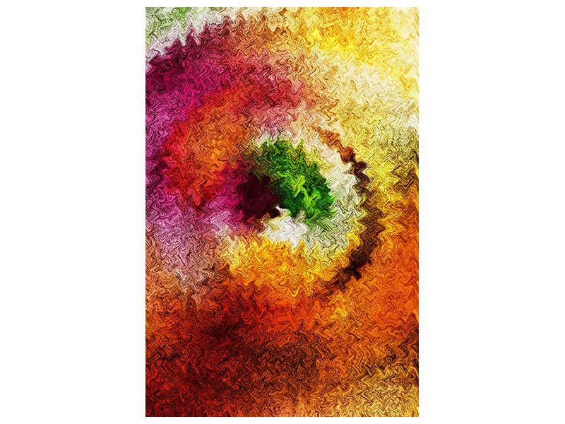 Klebeposter Aquarell-Gemälde